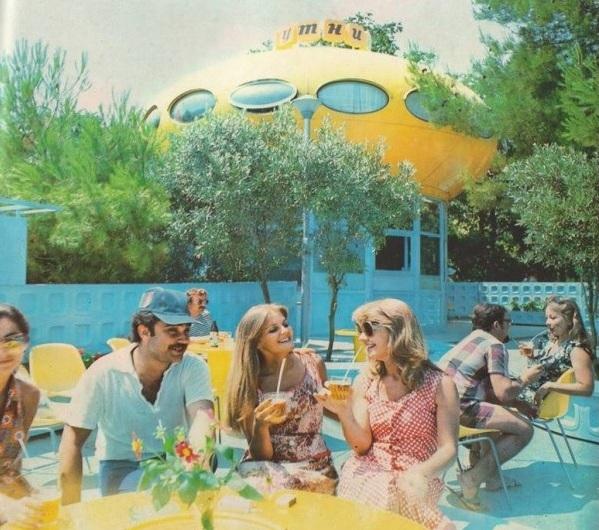 Futurohouse in Gurzuf, Crimea, 1979