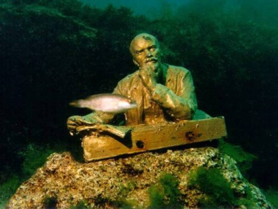 Underwater museum Crimea Tarhankut